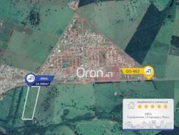 Área à venda, 24000 m² por R$ 3.000.000,00 - Chácaras de Recreio Samambaia - Goiânia/GO