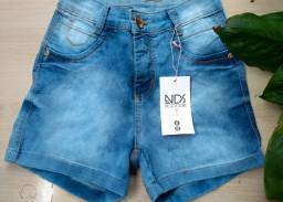 Short jeans 40 com Lycra