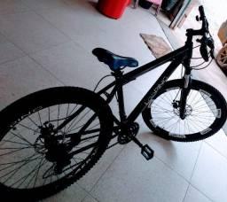 Bicicleta passo cartão
