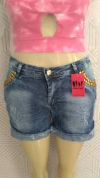 Short jeans Plus ( tamanhos 48 e 50)
