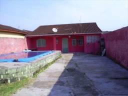 Casa à venda com 1 dormitórios em Balneário itaóca, Mongaguá cod:274301
