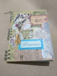 Caderno de Memória Junk Journal