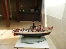 Barco Rebocador Controle Remoto