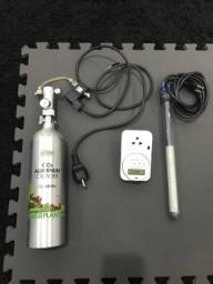 Kit CO2 + termostato Heim e timer digital