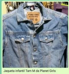 Desapego de jaqueta infantil da Planet Girls original