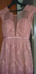 Vende-se vestido rose