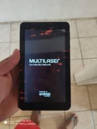 Tablet Multilaser m7s plus trincado menos de 1 mês de uso