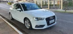 Audi a3 sportback 1.8 turbo 180cv tfsi 2014 versão mais top c teto panoramico - 2014