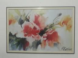 Quadro sala flores