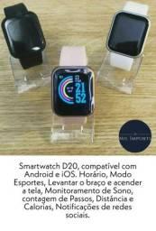 Smartwatch novo 150,00 reais últimas peças