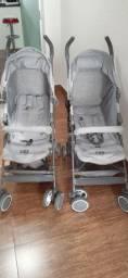 2 carrinhos bebê