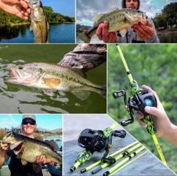 Kit de pesca Importado - PRA LEVAR HOJE R$ 279,90