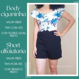 Moda Feminina (vestido, body, short.) em Itaboraí, Rio de Janeiro