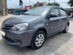 Toyota Etios 2014 1.3 x + GNV 5 Geração + 55.000km