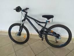 Bicicleta Mountain Bike Btwin Completa