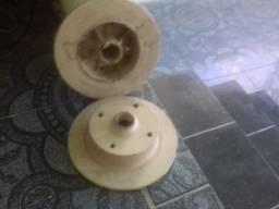 Par de disco de freio de brasilia ou fusca