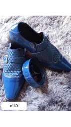 Sapatos personalizados material top todos com cinto