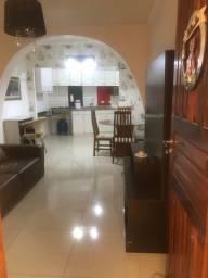 Alugo casa 2 quartos mobiliada