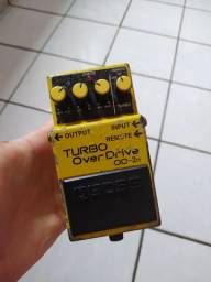 Pedal turbo overdrive od-2r boss