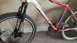 Bike venzo aro 26 freiosa disco