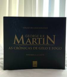 BOX de livros Game of Thrones completo