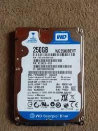 HD WD2500BEVT 250GB