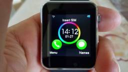 Smartwatch Phone A1 Relógio Inteligente Bluetooth Android Prata Aceitamos Olx Pay