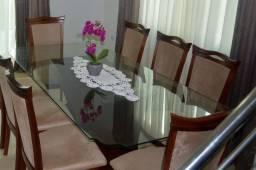 Tampo de vidro de mesa 1,03x2,10m