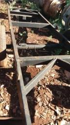 Carreta agrícola 5 metrô