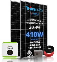 Gerador de Energia Fotovoltaico com potência de 7,37 kWp