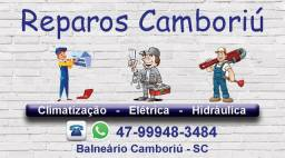 Reparos Camboriú - Serviços de Eletricista, Encanador e Marido de Aluguel