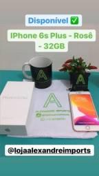Vendo IPhone 6s Plus - Rosê - 32GB