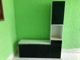 Cozinha Compacta Suspensa C/ Balcão