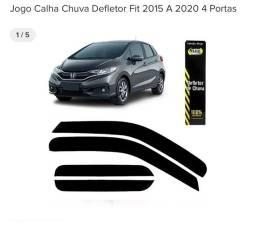 Calha de chuva para Honda fit 2015 a 2020
