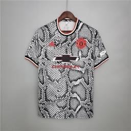 Camisa Manchester United edição cobra 2021/2022 tamanho GG