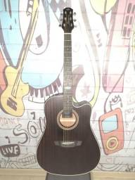 Violão folk Strimberg Sd200c - Linha Black Series Guitars