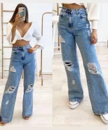 Calça jeans Wide Leg TM 44