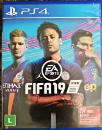 Título do anúncio: PS4 FIFA 19 (Sem arranhões)