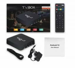 Tv box 4k 4g 64g novo na caixa