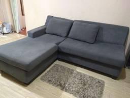Sofá muito confortável