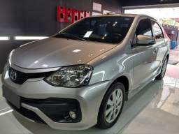 Título do anúncio: Toyota Etios Sedan 1.5 XLS 2018 Automático/Top de Linha - Estado de Zero - Raridade