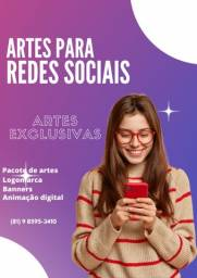 Título do anúncio: Arte para redes sociais