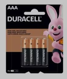 Pilha AAA Palito Alcalina 4 Unidades - Duracell