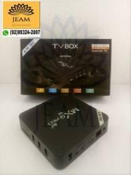 Tv Box Mxq pro 8Ram 128Gb Função Tv Smart Chromecast<br>