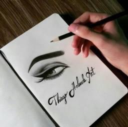 Desenho Realista Artístico