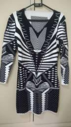 Vestido Tricot Modal inverno