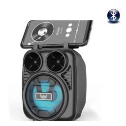 Caixa de Som Portátil Bluetooth 5.0 Altomex Som Amplificado