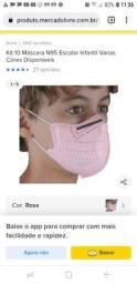 Título do anúncio: Mascara infantil k95