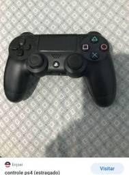 Vendo jogo e o controle
