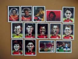 Título do anúncio: Figurinhas Pequenas e grandes - Álbum Flamengo 2019